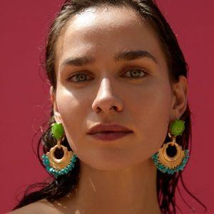 NWT Zara Pebble Earring